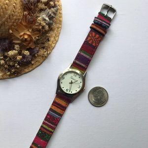 Multicolored Watch
